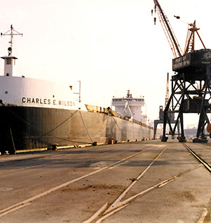 shipping port drainage