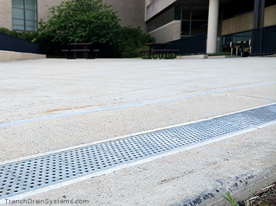 Trench Drain Systems Courtyard Streetscape Drains