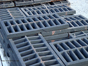 Trench Drain Systems Cast Iron Grating