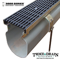 TDS 3000 Series trench drain
